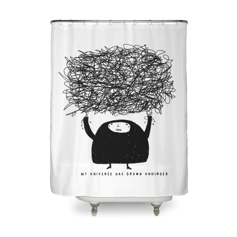 Universe Home Shower Curtain by Shirt Folk