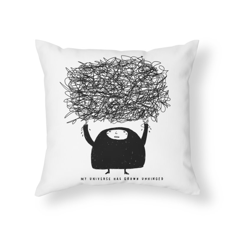 Universe Home Throw Pillow by Shirt Folk