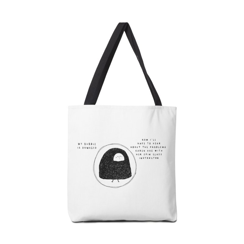 Bubble Accessories Tote Bag Bag by Shirt Folk