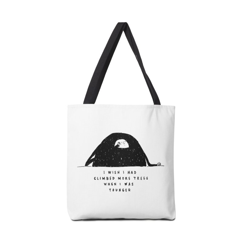 Climb Trees Accessories Tote Bag Bag by Shirt Folk