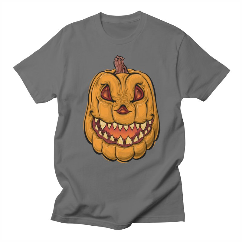 Halloween Pumpkin  Men's T-Shirt by Shirt For Brains