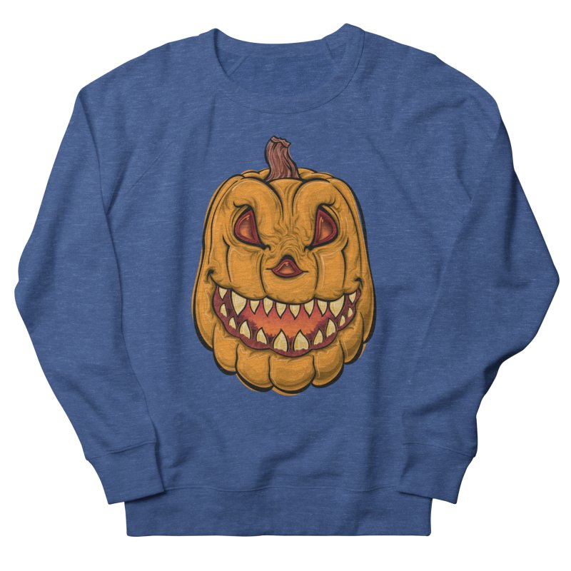 Halloween Pumpkin  Men's Sweatshirt by Shirt For Brains