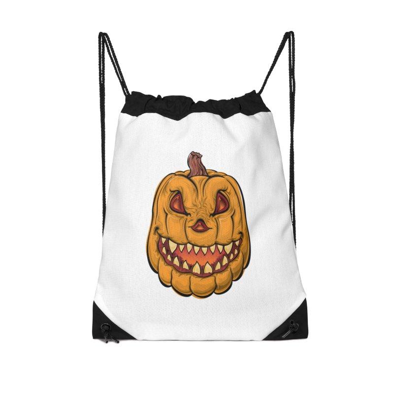 Halloween Pumpkin  Accessories Bag by Shirt For Brains