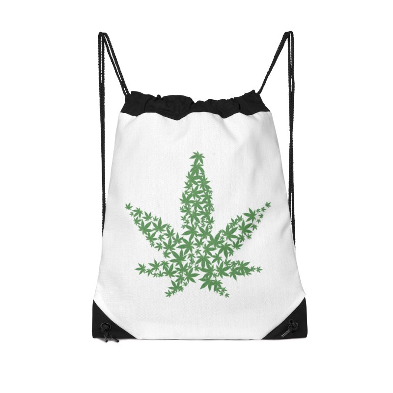Pot Leaf Accessories Bag by Shirt For Brains