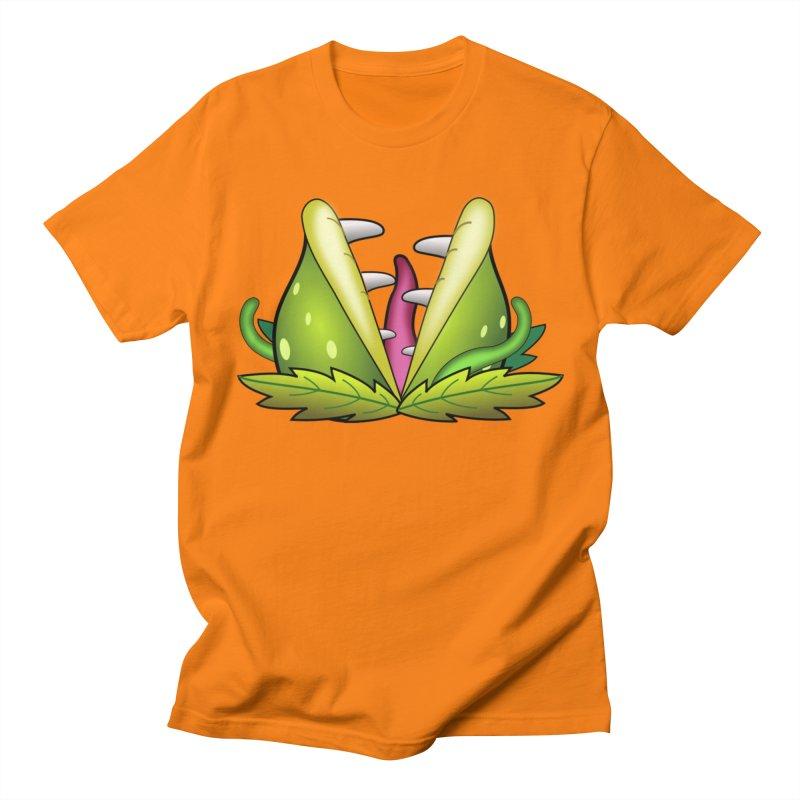 Mario Piranha Plant Men's T-Shirt by Shirt For Brains