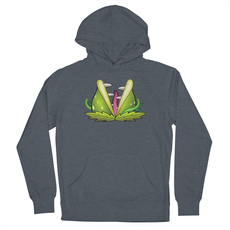 Mario Piranha Plant Men's French Terry Pullover Hoody by Shirt For Brains