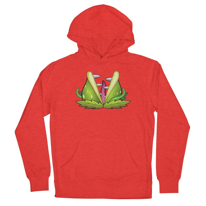 Mario Piranha Plant Men's Pullover Hoody by Shirt For Brains