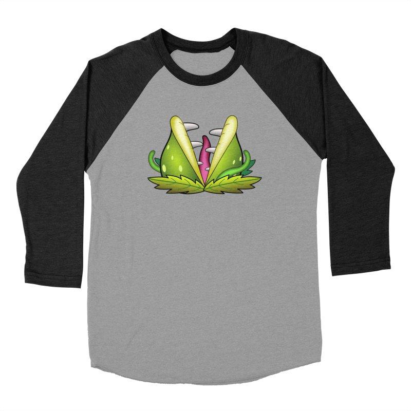 Mario Piranha Plant Men's Baseball Triblend Longsleeve T-Shirt by Shirt For Brains