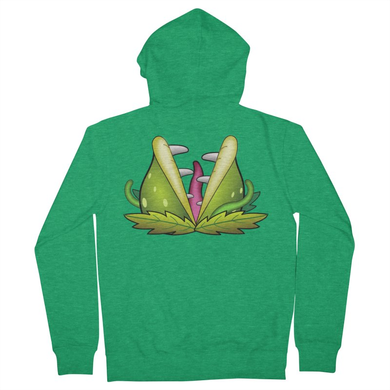 Mario Piranha Plant Women's Zip-Up Hoody by Shirt For Brains