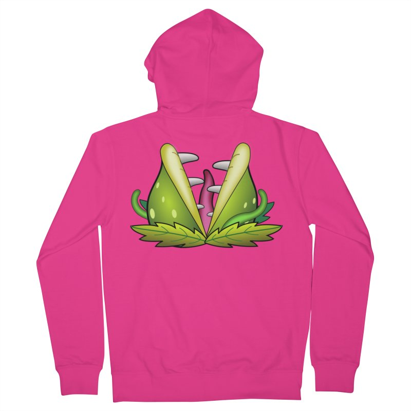 Mario Piranha Plant Men's Zip-Up Hoody by Shirt For Brains