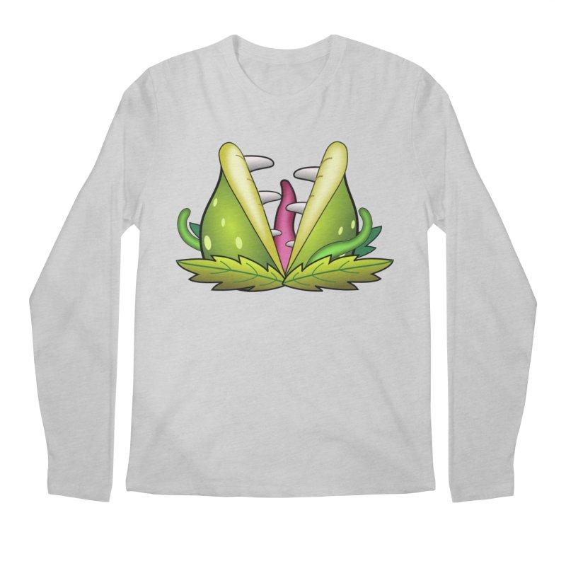 Mario Piranha Plant Men's Regular Longsleeve T-Shirt by Shirt For Brains