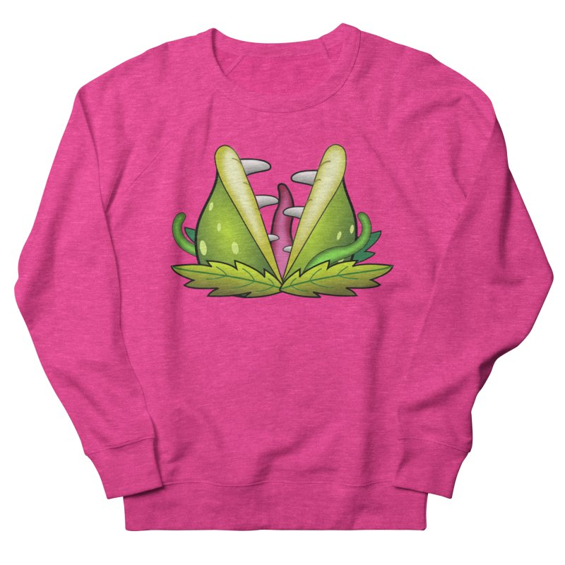 Mario Piranha Plant Women's French Terry Sweatshirt by Shirt For Brains