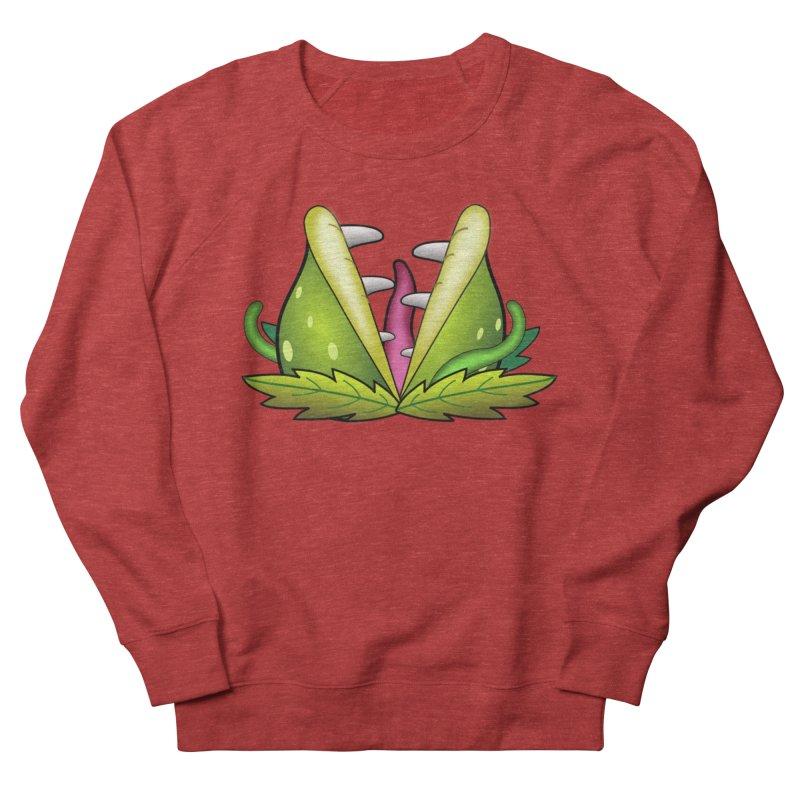 Mario Piranha Plant Men's French Terry Sweatshirt by Shirt For Brains