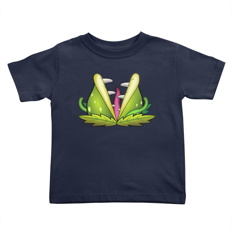 Mario Piranha Plant Kids Toddler T-Shirt by Shirt For Brains