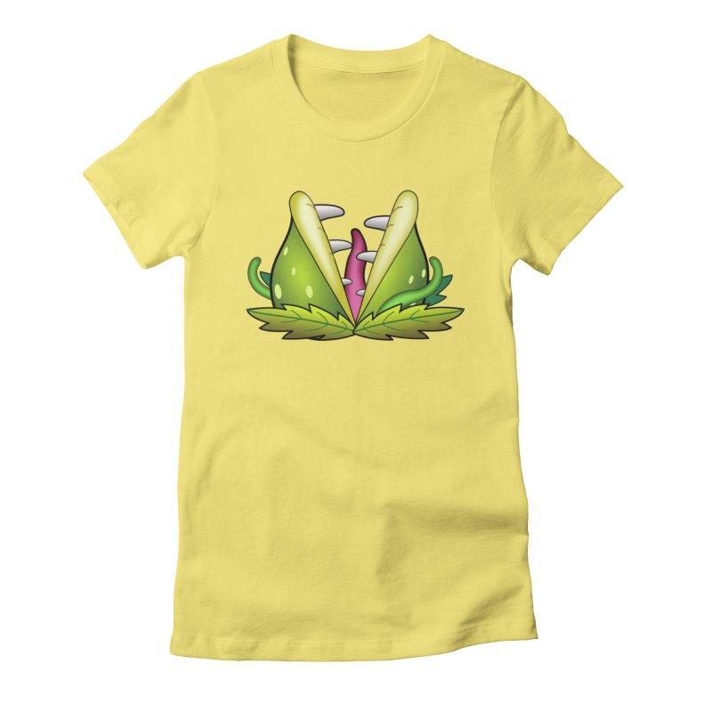 Mario Piranha Plant Women's T-Shirt by Shirt For Brains
