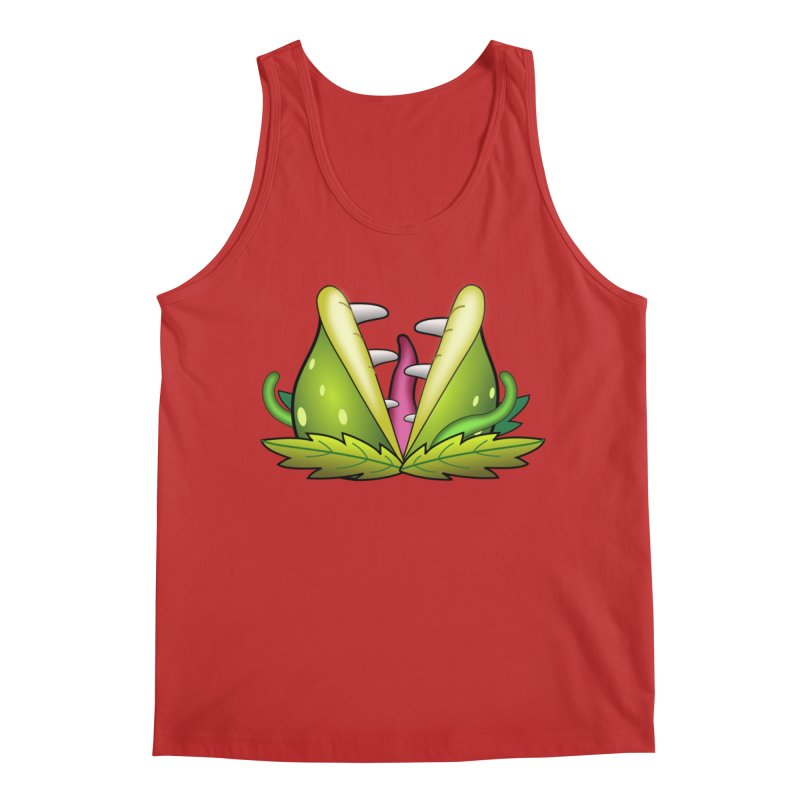 Mario Piranha Plant Men's Tank by Shirt For Brains