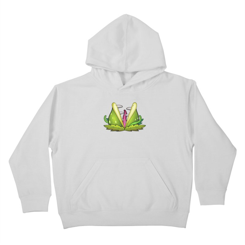 Mario Piranha Plant Kids Pullover Hoody by Shirt For Brains