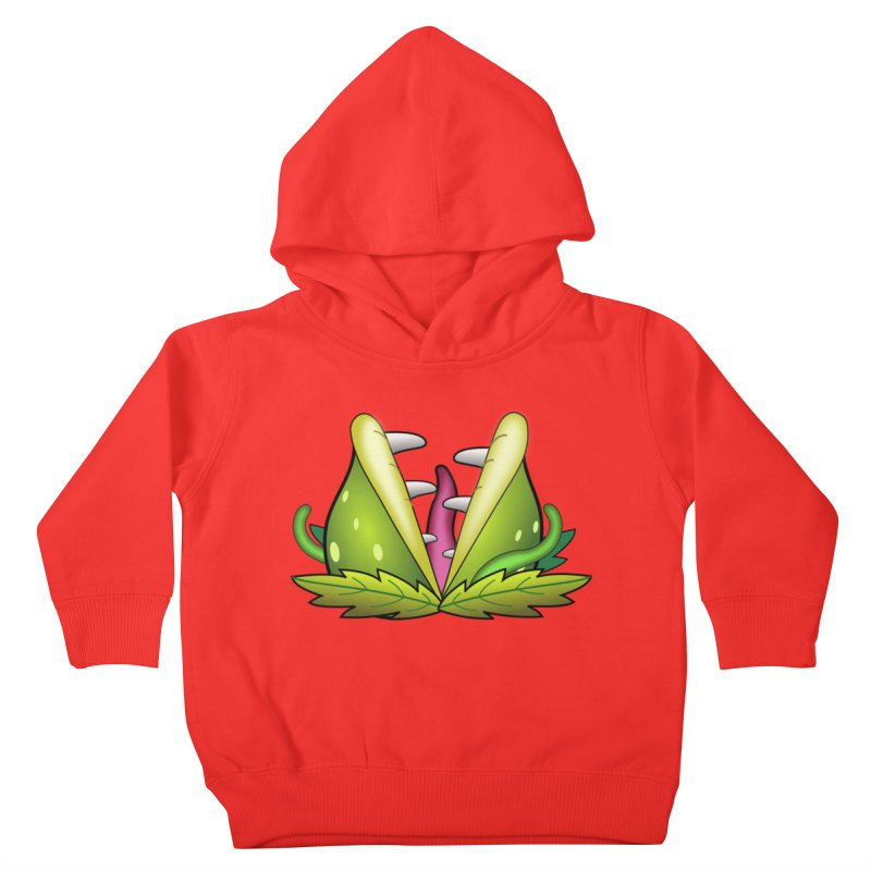 Mario Piranha Plant Kids Toddler Pullover Hoody by Shirt For Brains