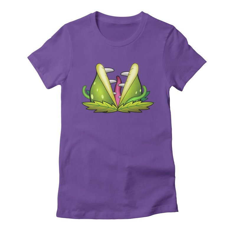Mario Piranha Plant Women's T-Shirt by Shirt For Brains