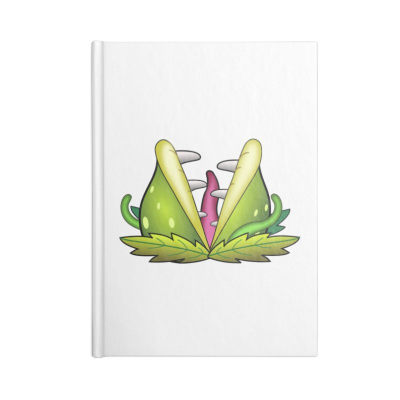 Mario Piranha Plant Accessories Notebook by Shirt For Brains