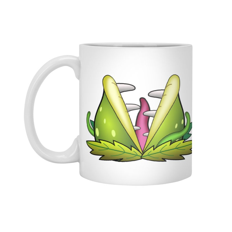 Mario Piranha Plant Accessories Standard Mug by Shirt For Brains