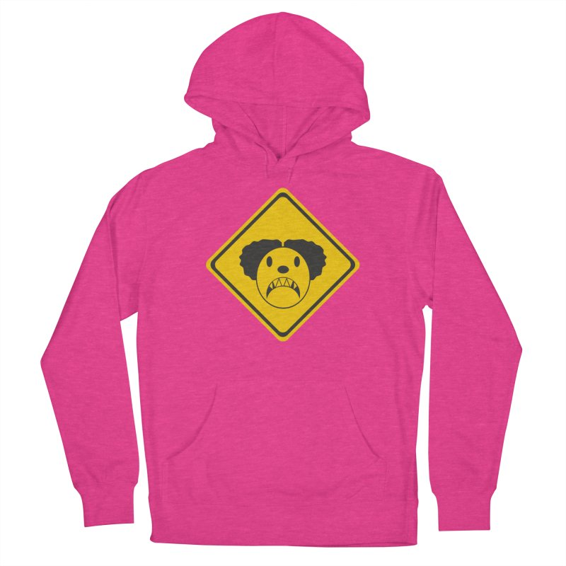 Scary Clown Crossing Women's Pullover Hoody by Shirt For Brains