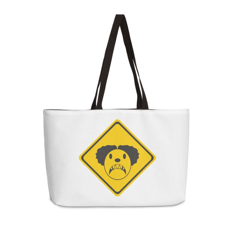 Scary Clown Crossing Accessories Bag by Shirt For Brains
