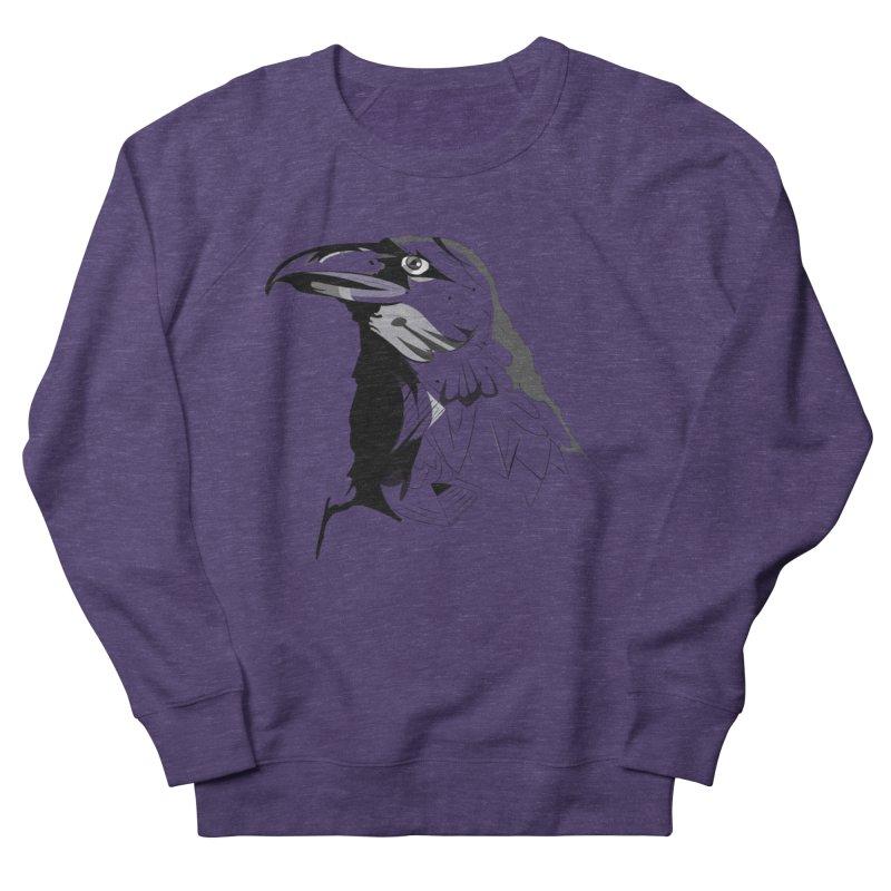 Crow Headshot Men's Sweatshirt by Shirt For Brains