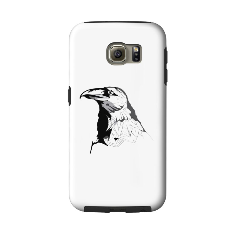 Crow Headshot Accessories Phone Case by Shirt For Brains