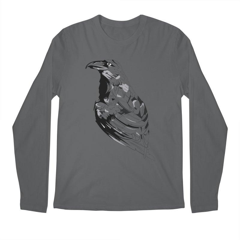 Crow Men's Regular Longsleeve T-Shirt by Shirt For Brains