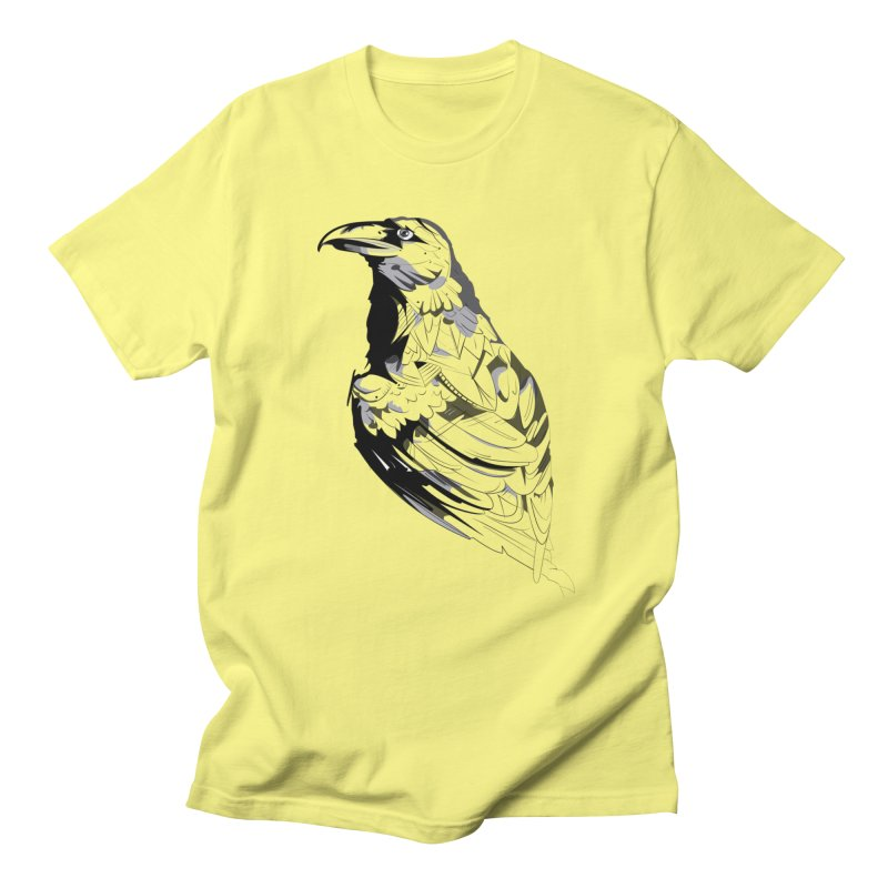 Crow Men's Regular T-Shirt by Shirt For Brains