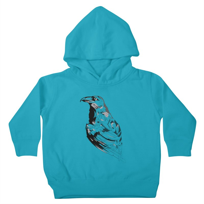 Crow Kids Toddler Pullover Hoody by Shirt For Brains