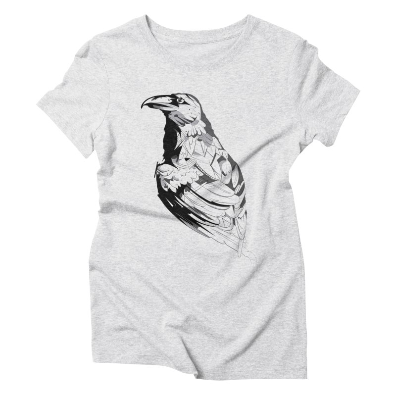 Crow Women's T-Shirt by Shirt For Brains