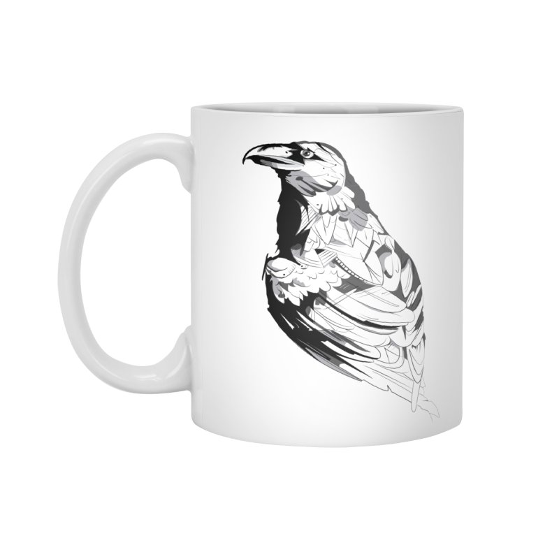 Crow Accessories Standard Mug by Shirt For Brains