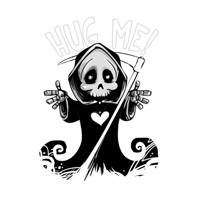 Hug Me To Death Accessories Zip Pouch by Shirt For Brains