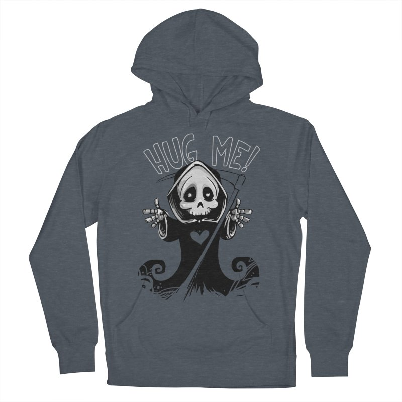 Hug Me To Death Men's French Terry Pullover Hoody by Shirt For Brains