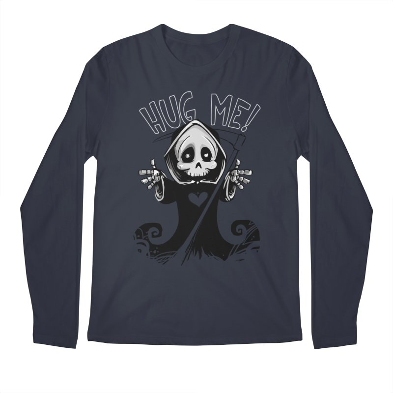 Hug Me To Death Men's Regular Longsleeve T-Shirt by Shirt For Brains