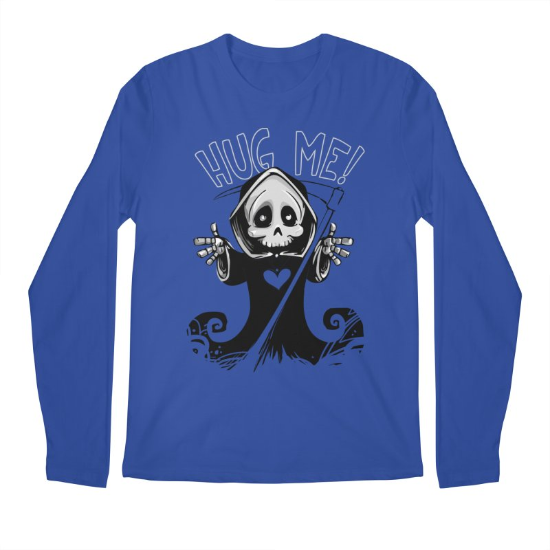 Hug Me To Death Men's Regular Longsleeve T-Shirt by Shirt For Brains