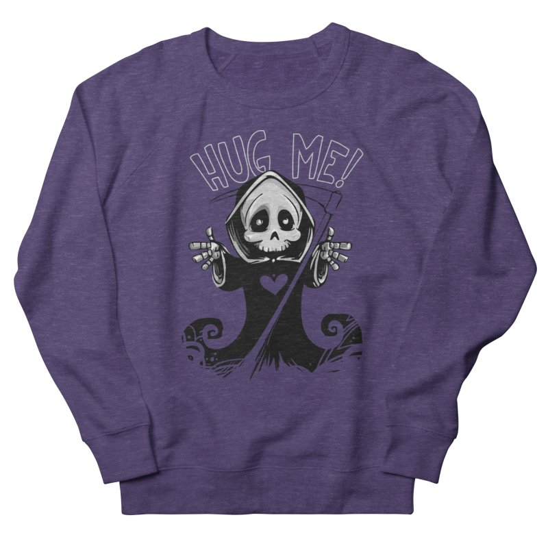 Hug Me To Death Men's French Terry Sweatshirt by Shirt For Brains