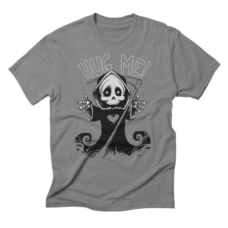 Hug Me To Death Men's Triblend T-Shirt by Shirt For Brains