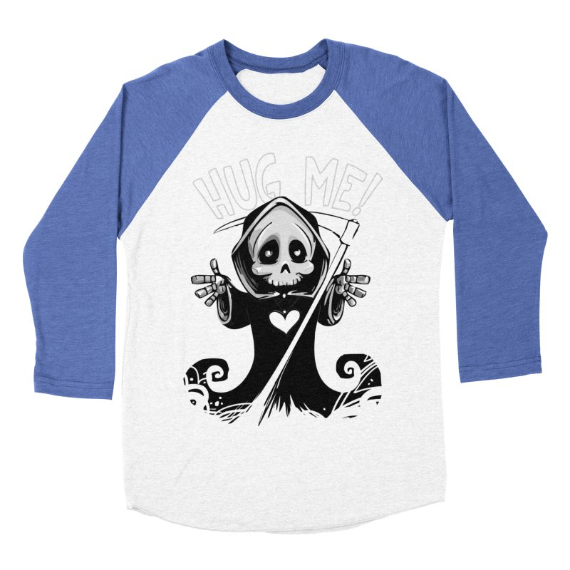 Hug Me To Death Women's Baseball Triblend Longsleeve T-Shirt by Shirt For Brains