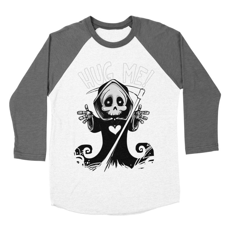 Hug Me To Death Men's Baseball Triblend Longsleeve T-Shirt by Shirt For Brains