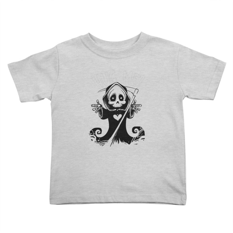 Hug Me To Death Kids Toddler T-Shirt by Shirt For Brains