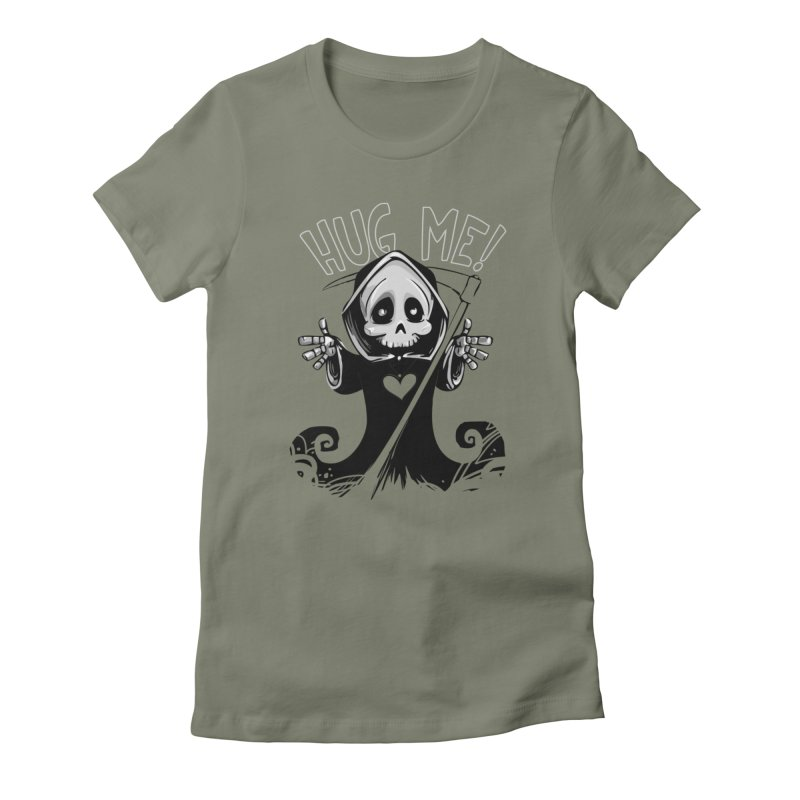 Hug Me To Death Women's T-Shirt by Shirt For Brains
