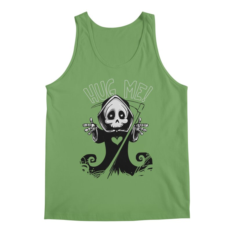Hug Me To Death Men's Tank by Shirt For Brains