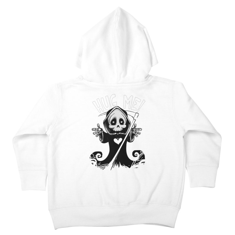 Hug Me To Death Kids Toddler Zip-Up Hoody by Shirt For Brains
