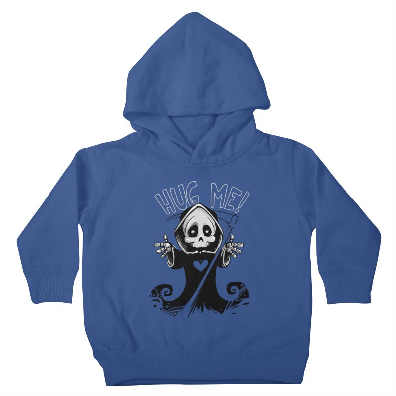 Hug Me To Death Kids Toddler Pullover Hoody by Shirt For Brains