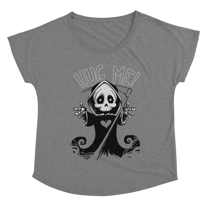 Hug Me To Death Women's Scoop Neck by Shirt For Brains