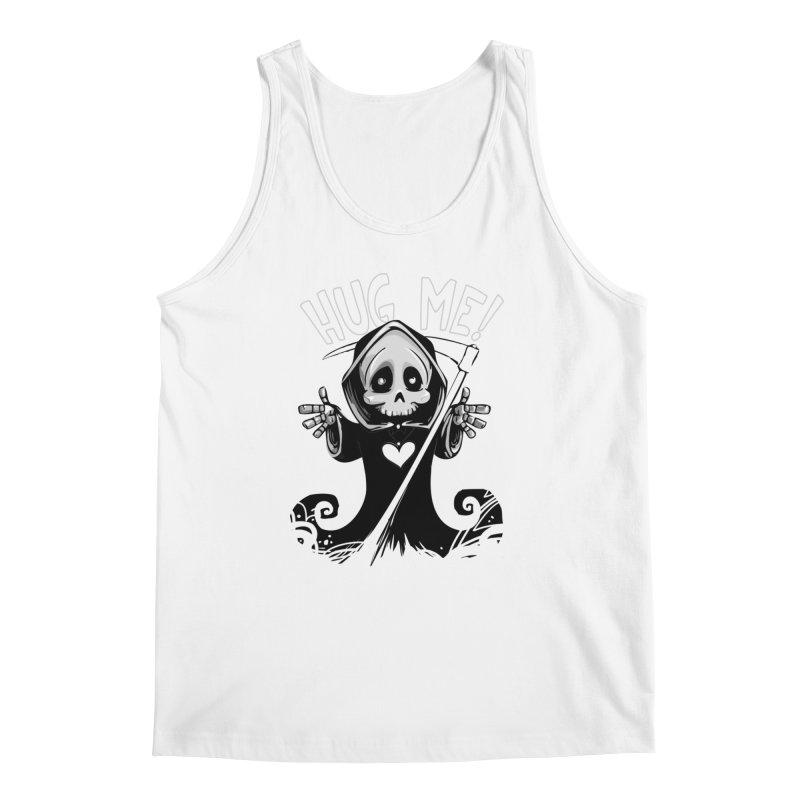 Hug Me To Death Men's Regular Tank by Shirt For Brains