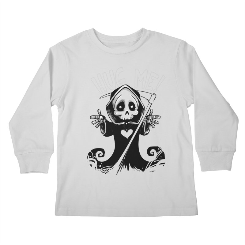 Hug Me To Death Kids Longsleeve T-Shirt by Shirt For Brains
